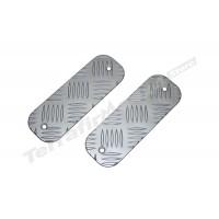 Protectie bara fata aluminiu argintiu 3mm Mammouth LR Defender BTS-KIT/A