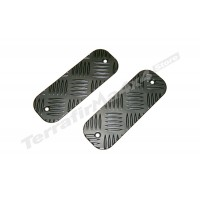 Protectie bara fata aluminiu negru 3mm Mammouth LR Defender BTS-KIT/B