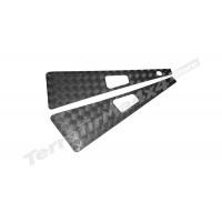Protectie aripi aluminiu 3mm negru Mammouth LR Defender 1983-2007 WTKIT01-RAH/B