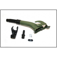 Racord semi-flexibil canistra culoare kaki universal GE1002