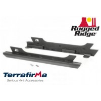 Rock Slider set cu trepte incluse Rugged Ridge Jeep Wrangler JK model 2 usi TF4027