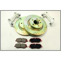 Kit frana discuri ventilate placute ceramice si etrieri Terrafirma LR Discovery 3 si 4 Range Rover Sport TF636